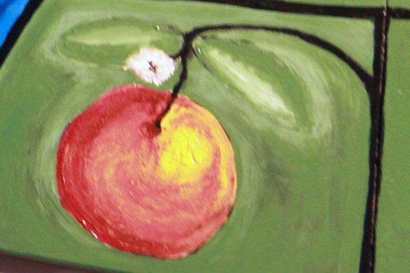 de bloeiende appel