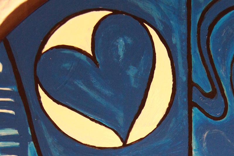 de weg van het hart