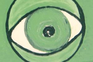 de weg van het oog