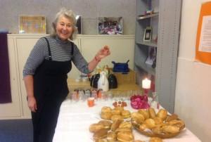 Marie met de broodjes