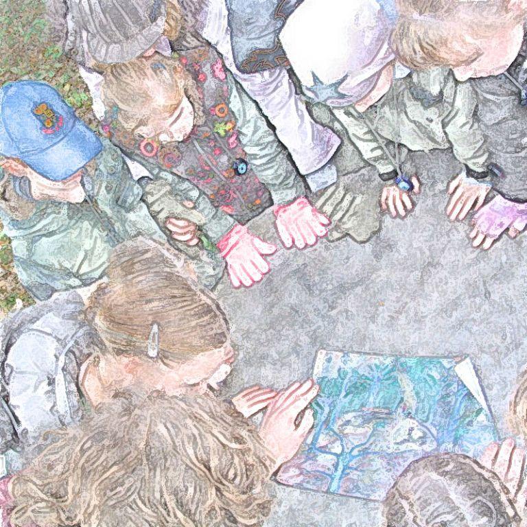 kringen van handen rond de quest for wisdom