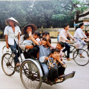 familietransport in Ha Noi